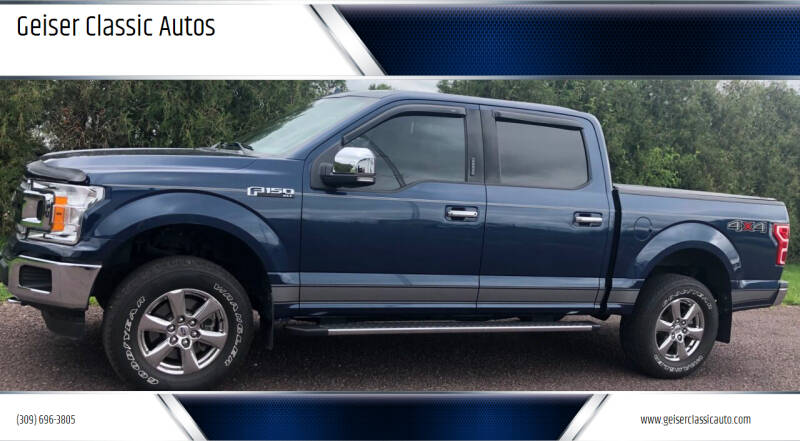 2018 Ford F-150 for sale at Geiser Classic Autos in Roanoke IL