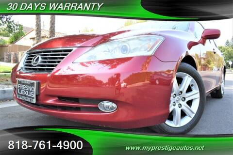 2009 Lexus ES 350 for sale at Prestige Auto Sports Inc in North Hollywood CA