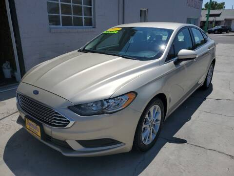 2017 Ford Fusion for sale at CHURCHILL AUTO SALES in Fallon NV