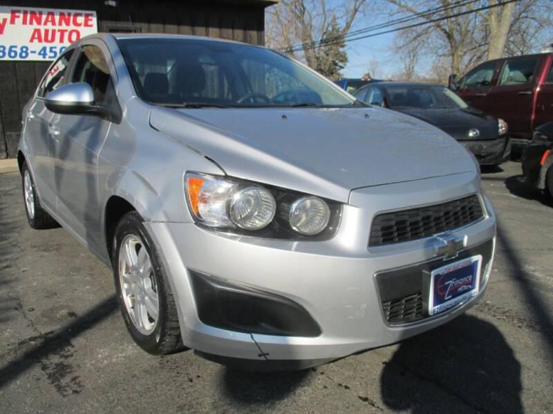2013 Chevrolet Sonic for sale at EZ Finance Auto in Calumet City IL