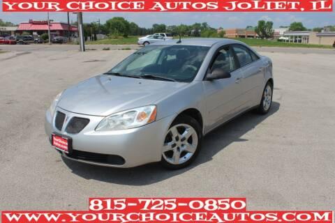 2008 Pontiac G6 for sale at Your Choice Autos - Joliet in Joliet IL