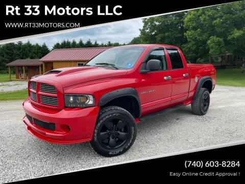 2004 Dodge Ram Pickup 1500 for sale at Rt 33 Motors LLC in Rockbridge OH