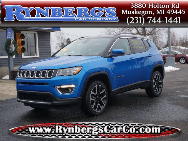 2018 Jeep Compass for sale at Rynbergs Car Co in Muskegon MI