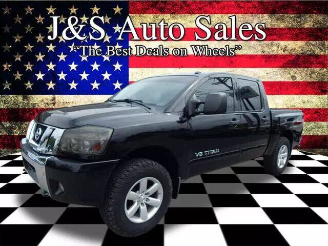 2012 Nissan Titan for sale at J & S Auto Sales in Clarksville TN