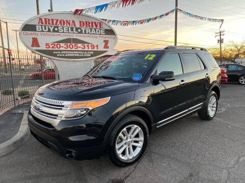 2012 Ford Explorer for sale at Arizona Drive LLC in Tucson AZ