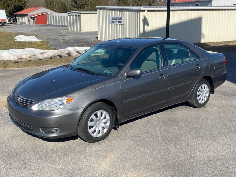 2005 Toyota Camry for sale at Alexandria Auto Mart LLC in Alexandria PA
