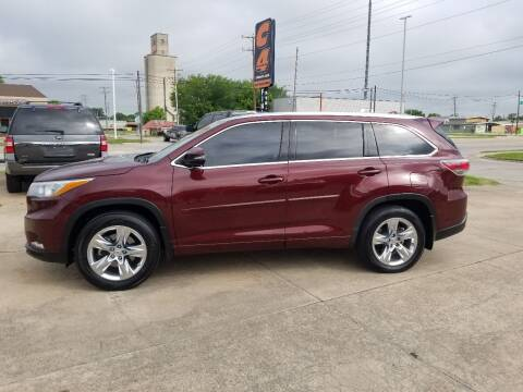 2015 Toyota Highlander for sale at C4 AUTO GROUP in Claremore OK