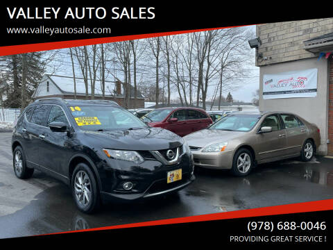 2014 Nissan Rogue for sale at VALLEY AUTO SALES in Methuen MA