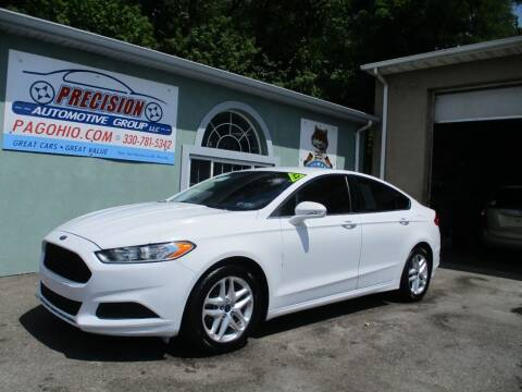 2014 Ford Fusion for sale at Precision Automotive Group in Youngstown OH