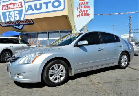 2010 Nissan Altima for sale at Buy Here Pay Here Lawton.com in Lawton OK