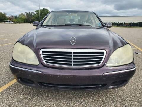 2002 Mercedes-Benz S-Class for sale at R Tony Auto Sales in Clinton Township MI
