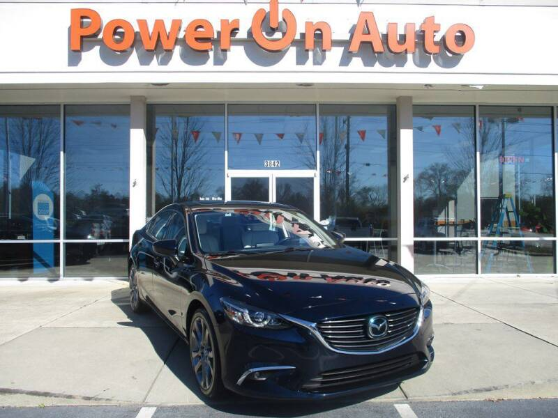 2016 Mazda MAZDA6 for sale at Power On Auto LLC in Monroe NC