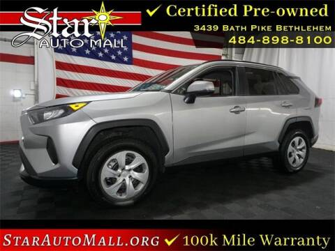 2019 Toyota RAV4 for sale at STAR AUTO MALL 512 in Bethlehem PA