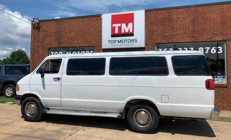 1997 Dodge Ram Wagon for sale at Top Motors LLC in Portsmouth VA