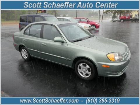2003 Hyundai Accent for sale at Scott Schaeffer Auto Center in Birdsboro PA
