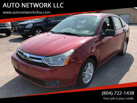 2009 Ford Focus for sale at AUTO NETWORK LLC in Petersburg VA