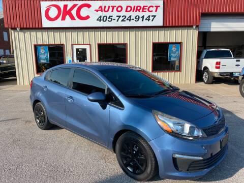 2016 Kia Rio for sale at OKC Auto Direct in Oklahoma City OK