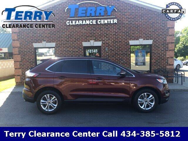 2015 Ford Edge for sale at Terry Clearance Center in Lynchburg VA