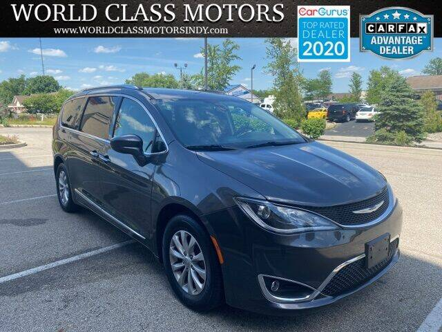 2018 Chrysler Pacifica for sale at World Class Motors LLC in Noblesville IN
