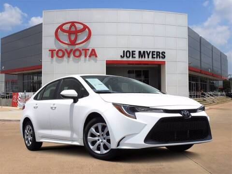2020 Toyota Corolla for sale at Joe Myers Toyota PreOwned in Houston TX