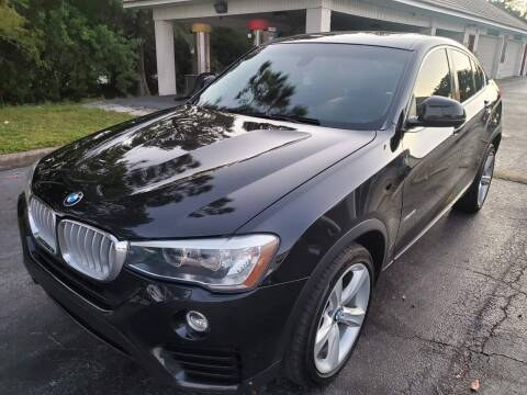 2016 BMW X4 for sale at Florida Prestige Collection in Saint Petersburg FL