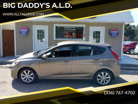 2013 Hyundai Accent for sale at BIG DADDY'S  A.L.D. in Winston Salem NC