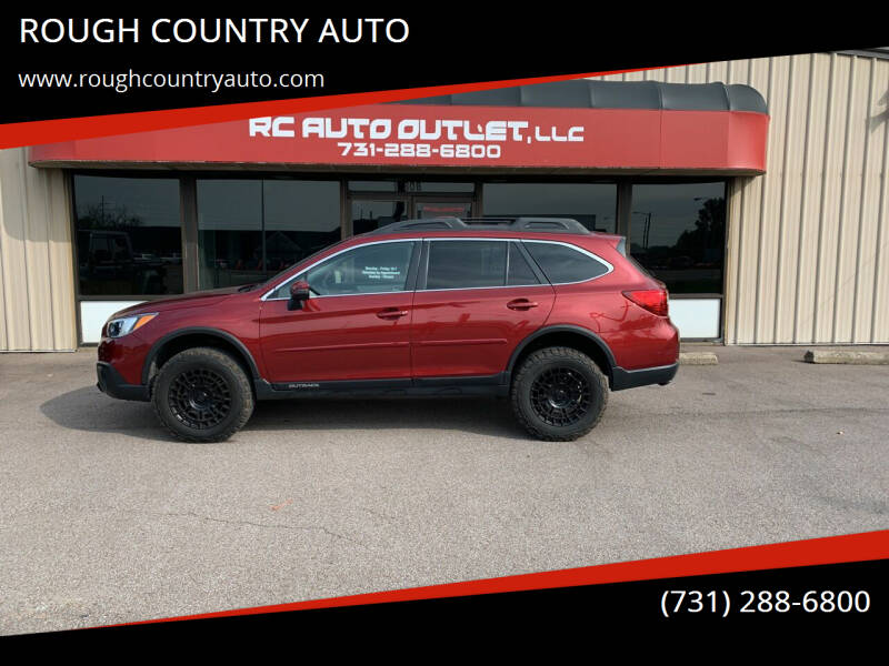 2017 Subaru Outback for sale at ROUGH COUNTRY AUTO in Dyersburg TN