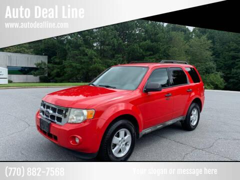 2009 Ford Escape for sale at Auto Deal Line in Alpharetta GA