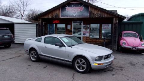 2006 Ford Mustang for sale at LEE AUTO SALES in McAlester OK