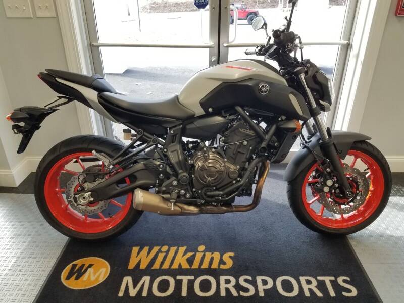 2020 Yamaha MT-07 for sale at WILKINS MOTORSPORTS in Brewster NY