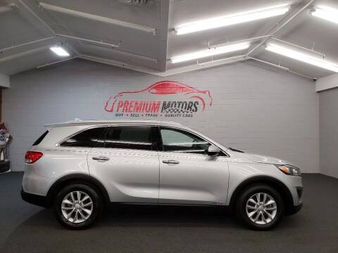 2016 Kia Sorento for sale at Premium Motors in Villa Park IL