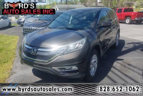 2015 Honda CR-V for sale at Byrds Auto Sales in Marion NC