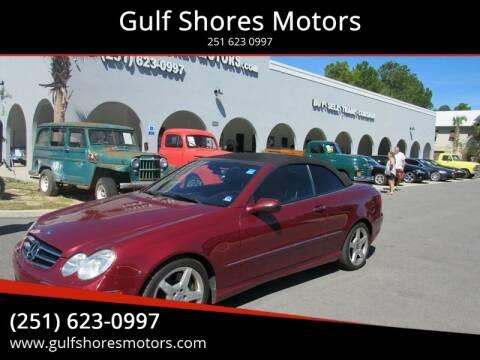 2007 Mercedes-Benz CLK for sale at Gulf Shores Motors in Gulf Shores AL