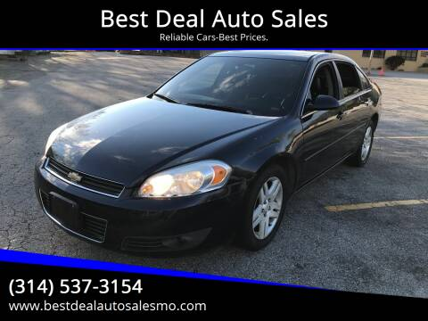 2007 Chevrolet Impala for sale at Best Deal Auto Sales in Saint Charles MO