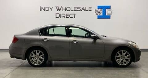 2009 Infiniti G37 Sedan for sale at Indy Wholesale Direct in Carmel IN