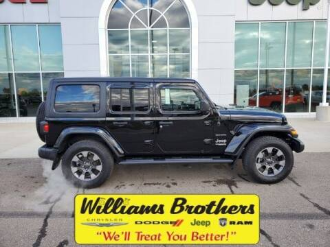 2019 Jeep Wrangler Unlimited for sale at Williams Brothers - Pre-Owned Monroe in Monroe MI