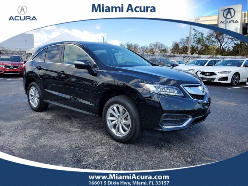 2018 Acura RDX for sale at MIAMI ACURA in Miami FL