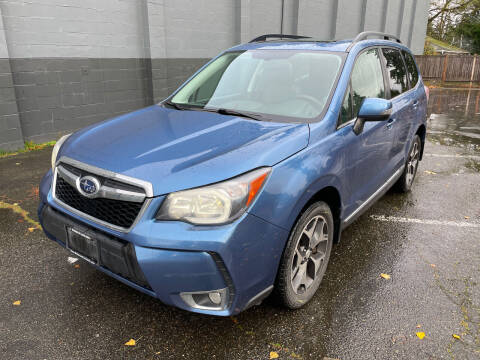 2015 Subaru Forester for sale at APX Auto Brokers in Lynnwood WA