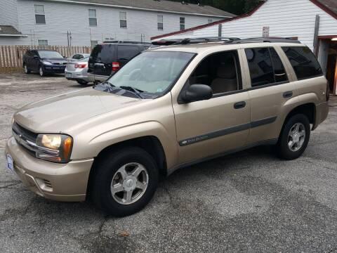 2004 Chevrolet TrailBlazer for sale at Premier Auto Sales Inc. in Newport News VA