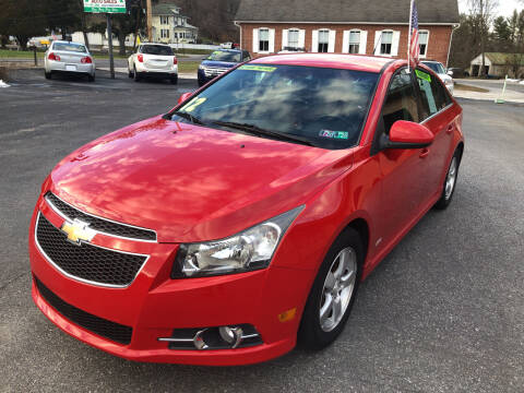2012 Chevrolet Cruze for sale at McNamara Auto Sales - Hanover Lot in Hanover PA