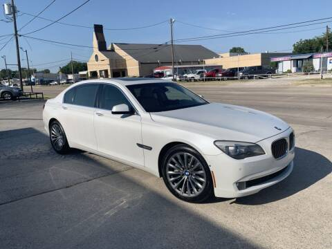 2011 BMW 7 Series for sale at Z AUTO MART in Lewisville TX
