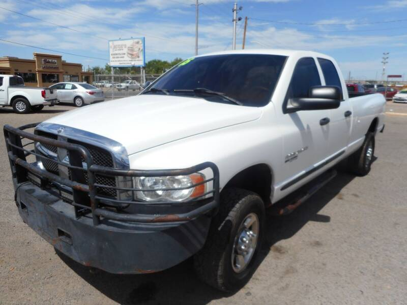 2005 Dodge Ram Pickup 2500 for sale at AUGE'S SALES AND SERVICE in Belen NM