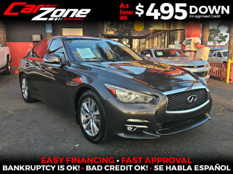 2014 Infiniti Q50 for sale at Carzone Automall in South Gate CA