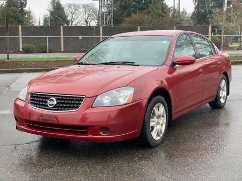 2006 Nissan Altima for sale at Q Motors in Lakewood WA