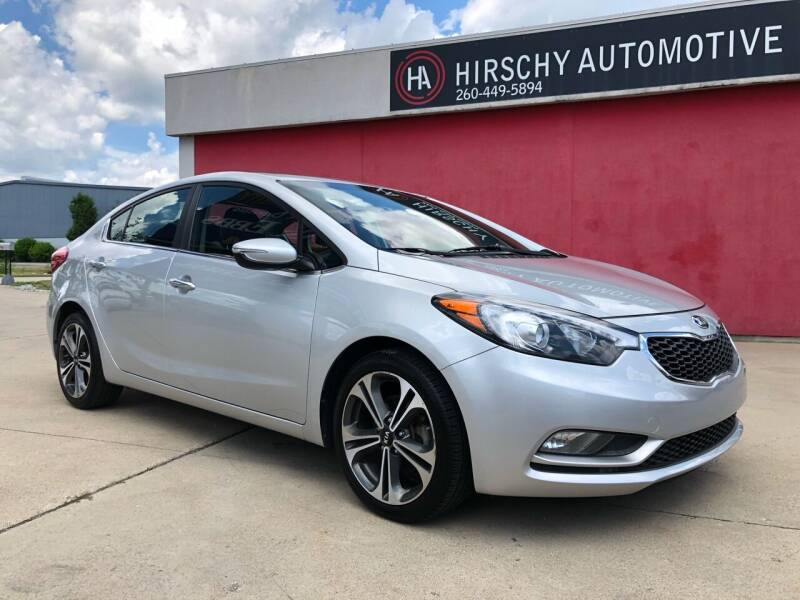 2014 Kia Forte for sale at Hirschy Automotive in Fort Wayne IN