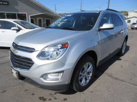 2017 Chevrolet Equinox for sale at Dam Auto Sales in Sioux City IA