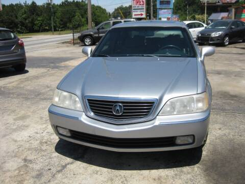 2004 Acura RL for sale at LAKE CITY AUTO SALES in Forest Park GA