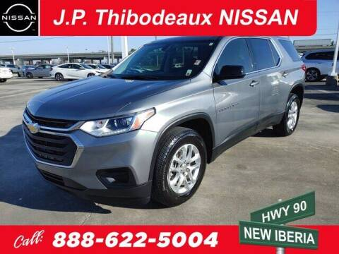 2020 Chevrolet Traverse for sale at J P Thibodeaux Used Cars in New Iberia LA