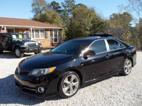 2012 Toyota Camry for sale at Carolina Auto Connection & Motorsports in Spartanburg SC