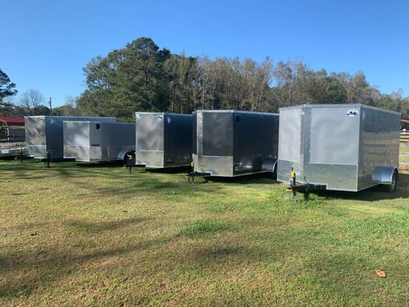 2021 New Quality Cargo 6x12 Enclosed Trailers for sale at Tripp Auto & Cycle Sales Inc in Grimesland NC